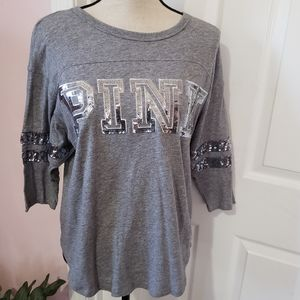 PINK Victoria's Secret Bling shirt